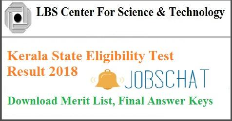 Kerala SET Result