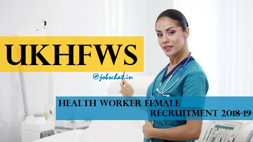 UKHFWS Recruitment