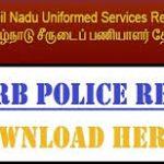 TN Police Constable Results 2018 | Check Constable Cutoff Marks, Merit List @tnusrbonline.org