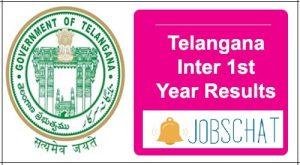 Telangana Inter 1st Year Results