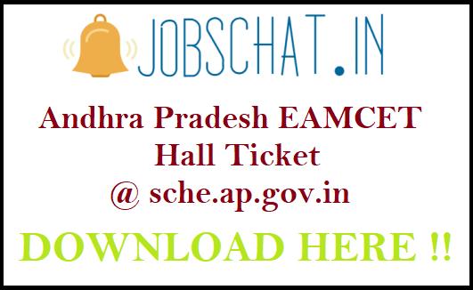 Andhra Pradesh EAMCET Hall Ticket