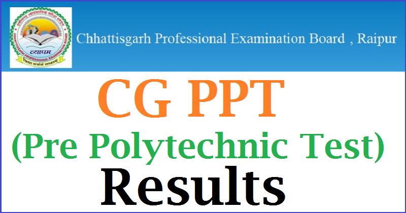 CG PPT Result
