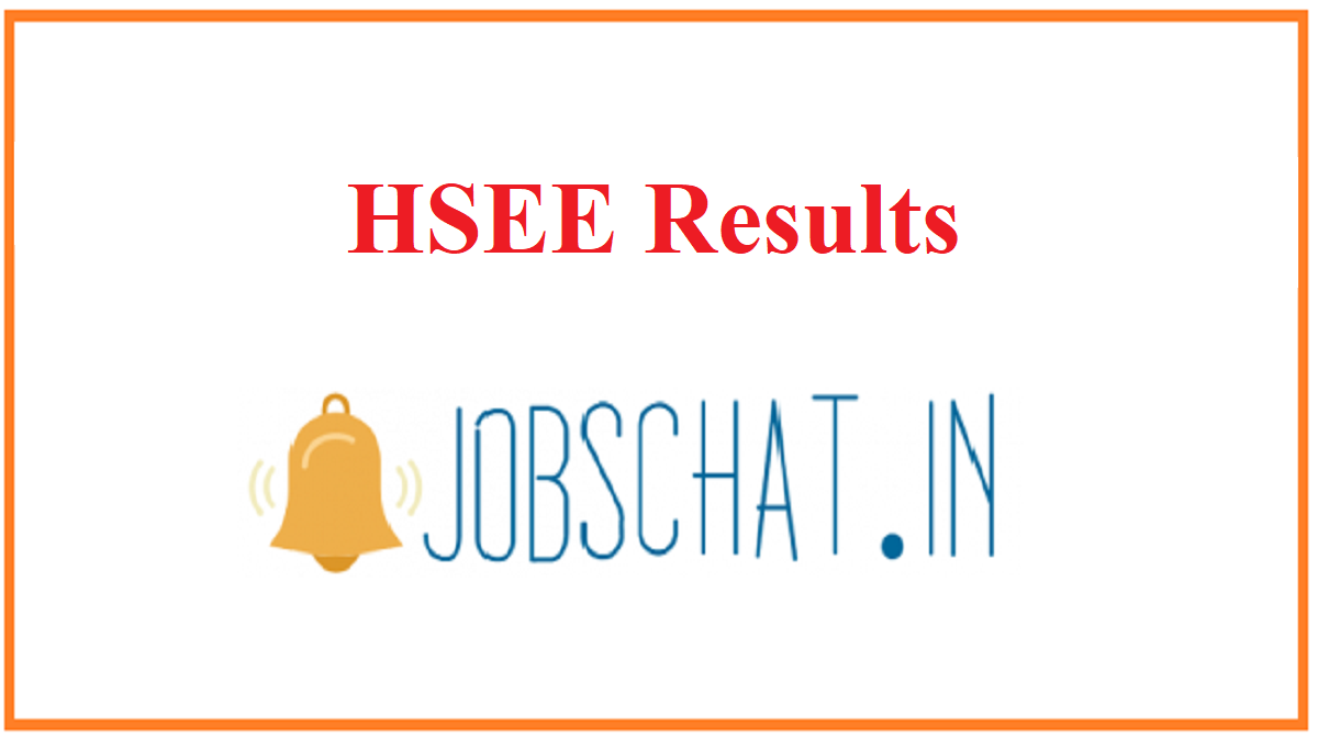 HSEE Results
