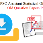 RPSC ASO Previous Papers 2018 | Download Assistant Statistical Officer सहायक सांख्यिकी अधिकारी Old Question Papers Pdf @ rpsc.rajasthan.gov.in