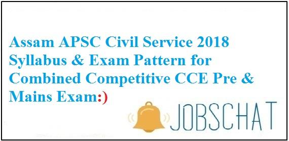 Assam Civil Service Syllabus