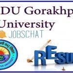 DDU Result 2018 | Download DDU Gorakhpur University UG Admission Test Rank Cards, Score Cards