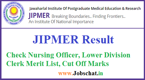 JIPMER Result