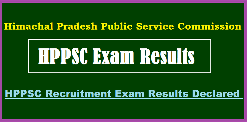 HPPSC Subordinate Allied Service Result