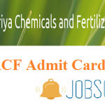 RCF Management Trainee Admit Card 2018 | Check Rashtriya Chemicals And Fertilizers Limited MT(Chemical) Exam Dates @ www.rcfltd.com