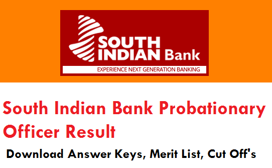 SIB Probationary Officer Result