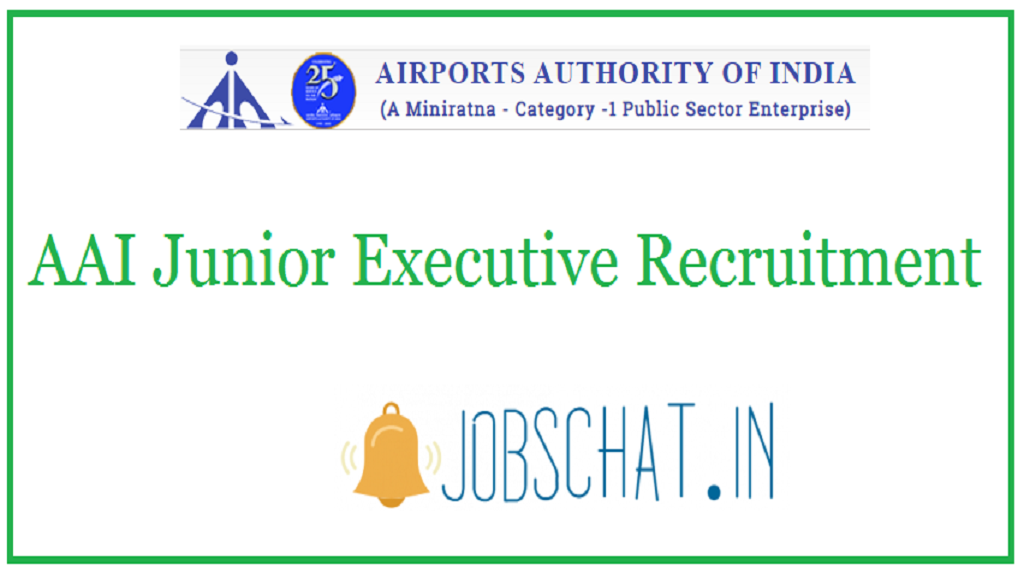 AAI Junior Executive Recruitment