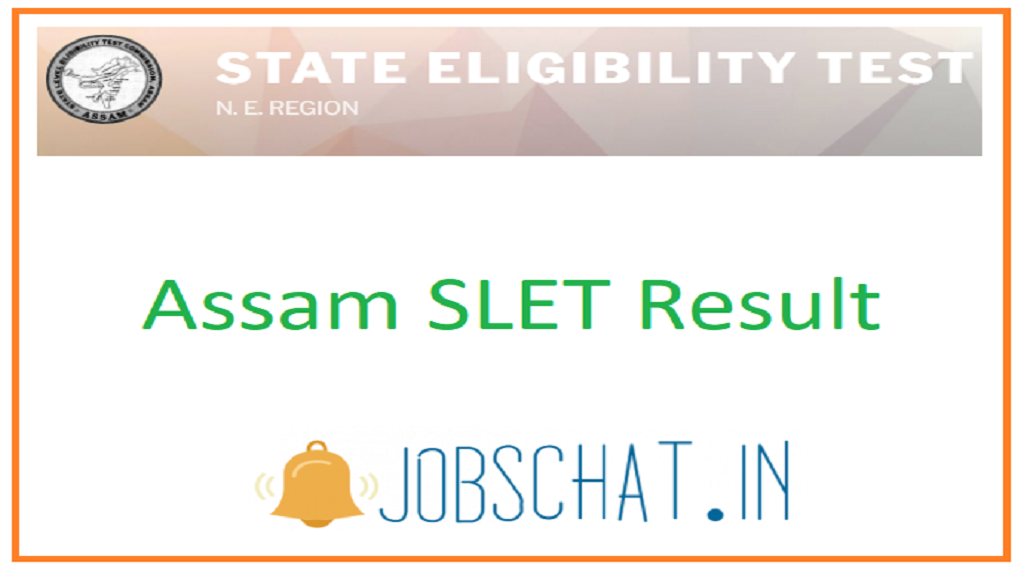 Assam SLET Result