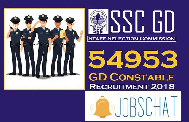 SSC Constable GD Recruitment