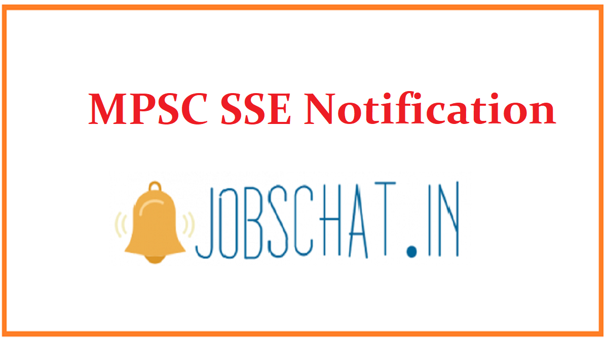 MPSC SSE Notification