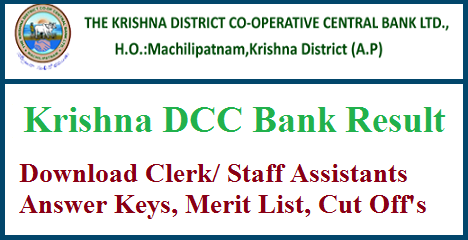 Krishna DCC Bank Result