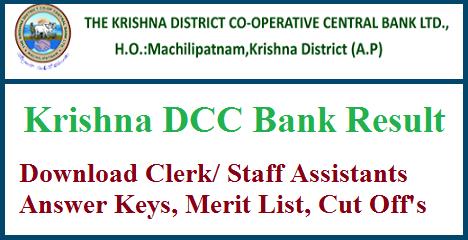 Krishna DCC Bank Result