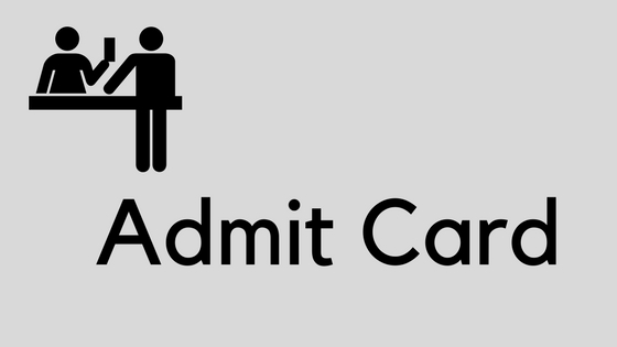 HPSC Assistant Engineer Admit Card