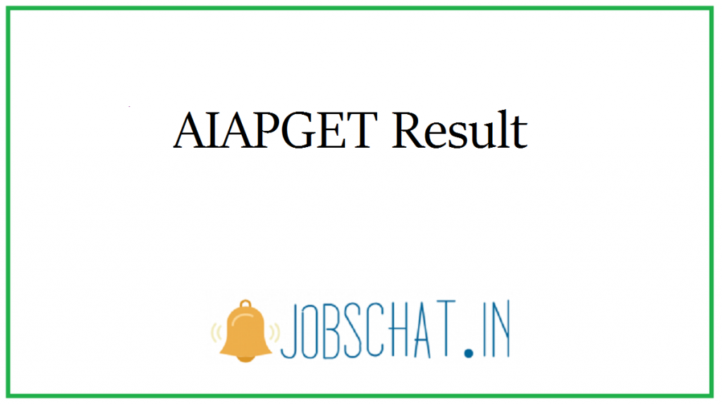 AIAPGET Result
