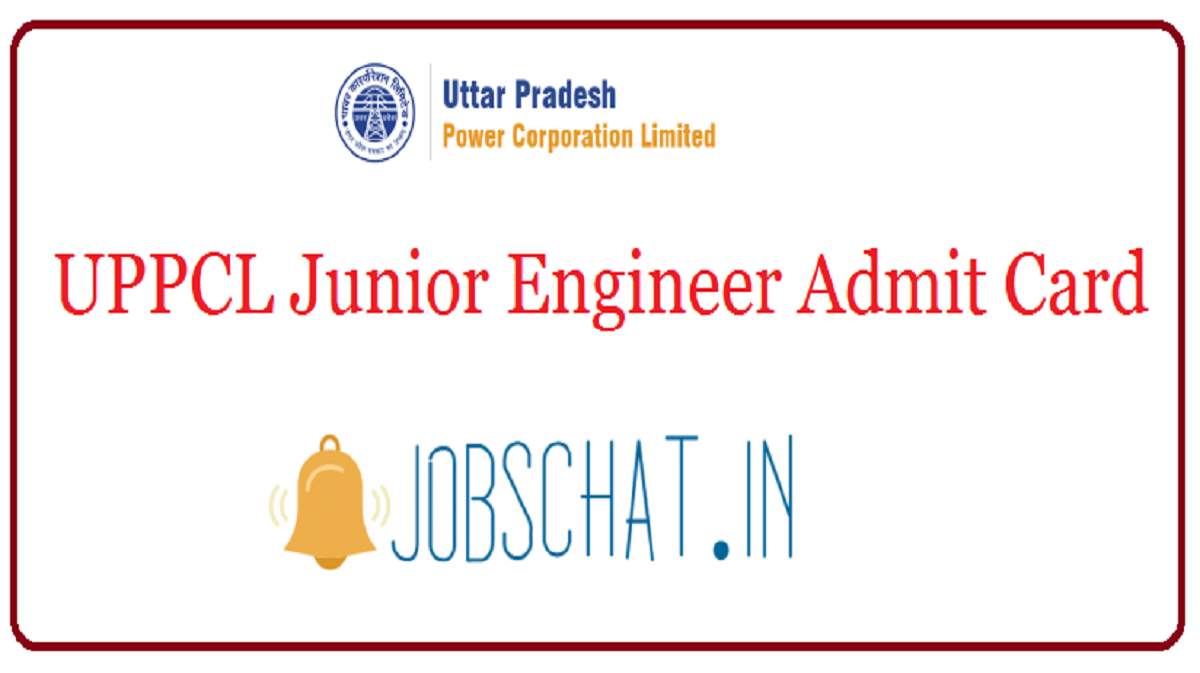 UPPCL Junior Engineer Admit Card