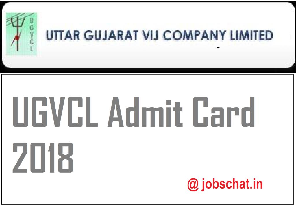 UGVCL Vidyut Sahayak Admit Card