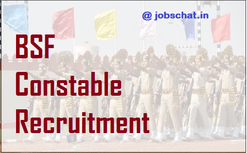BSF Constable Recruitment
