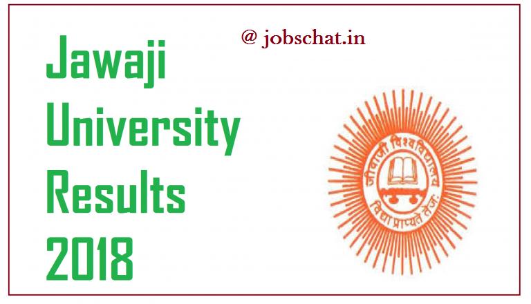 Jawaji University Results