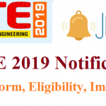 GATE Notification 2019 | Check GATE 2018 Eligibility, Registration, Dates @ gate.iitm.ac.in