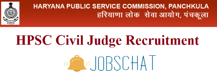 HPSC Civil Judge Recruitment