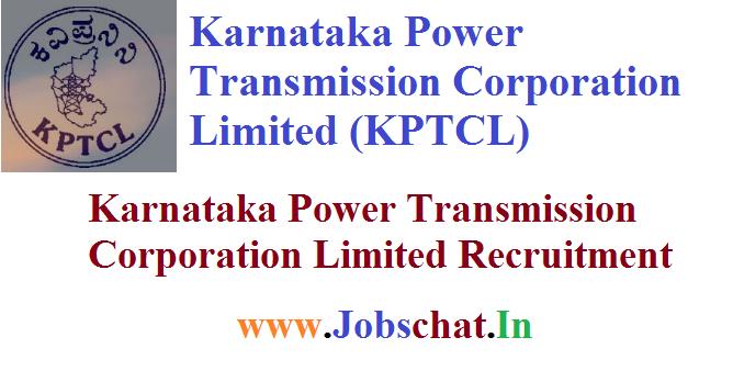 KPTCL Recruitment
