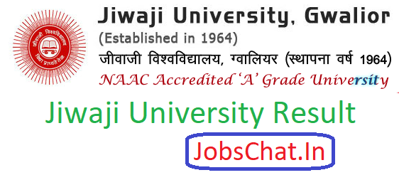 Jiwaji University Result 2019