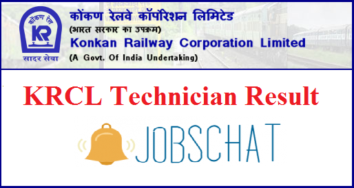 KRCL Technician Result