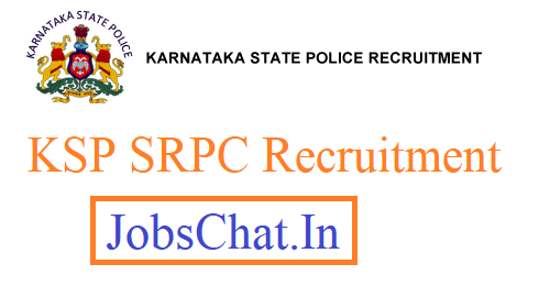 KSP SRPC Recruitment