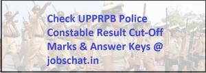 UPPRPB Police Constable Result