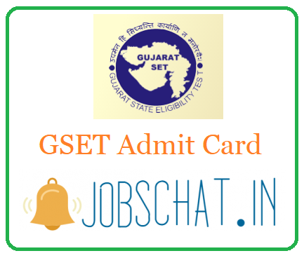 GSET Admit Card