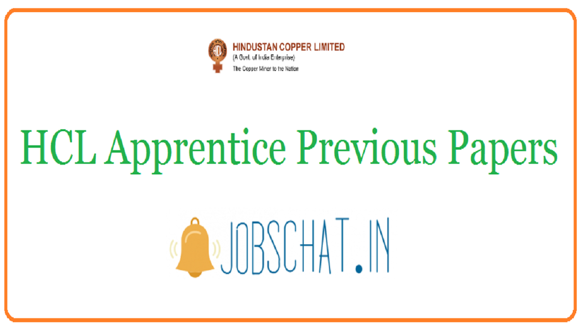 HCL Apprentice Previous Papers