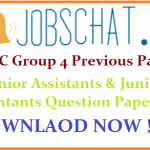 APPSC Group 4 Previous Papers | Download Junior Assistants & Junior Accountants Model Question Papers Pdf @ www.psc.ap.gov.in