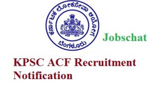 KPSC ACF Notification