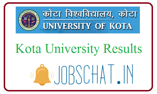 Kota University Results