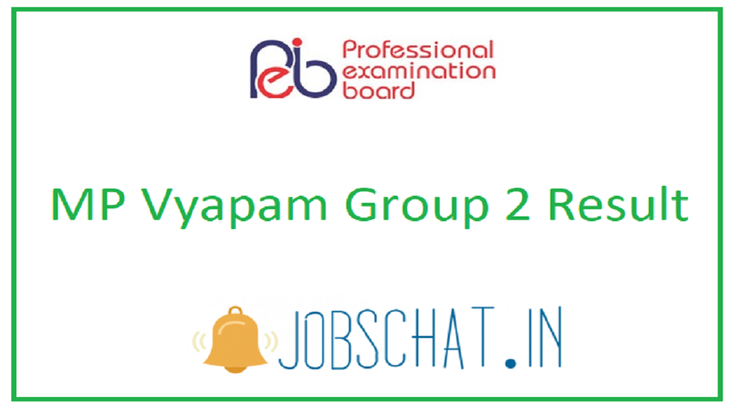 MP Vyapam Group 2 Result