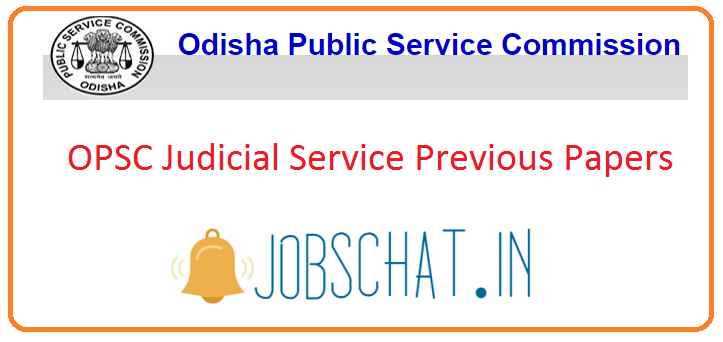 OPSC Judicial Service Previous Papers