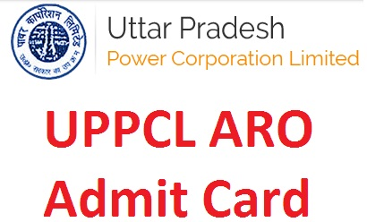 UPPCL ARO APS Admit Card