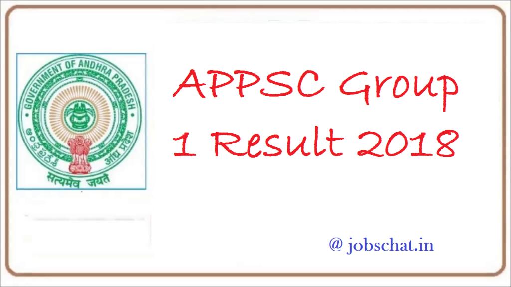 APPSC Group 1 Result