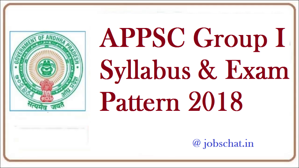 APPSC Group 1 Syllabus