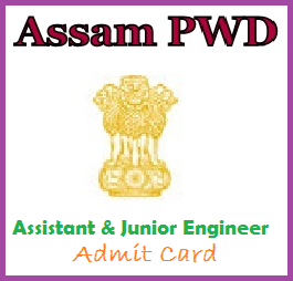 Assam PWD Admit Card