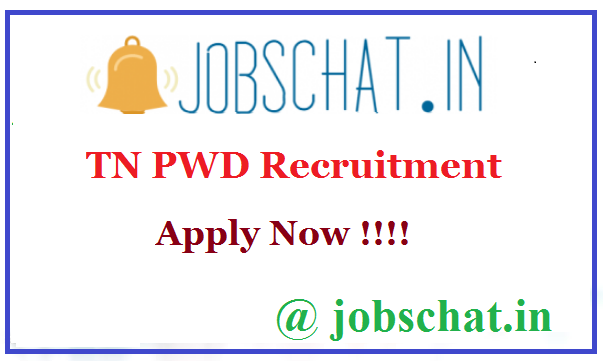 TN PWD Recruitment