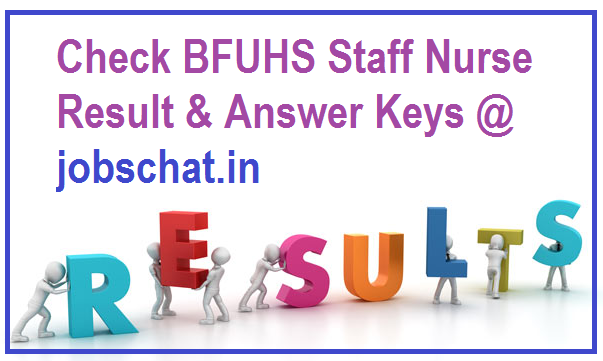 BFUHS Staff Nurse Result