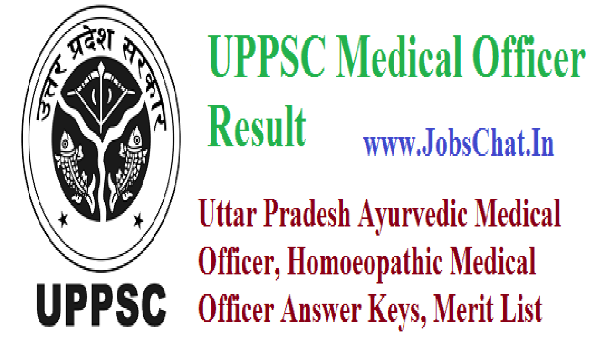 UPPSC Medical Officer Result