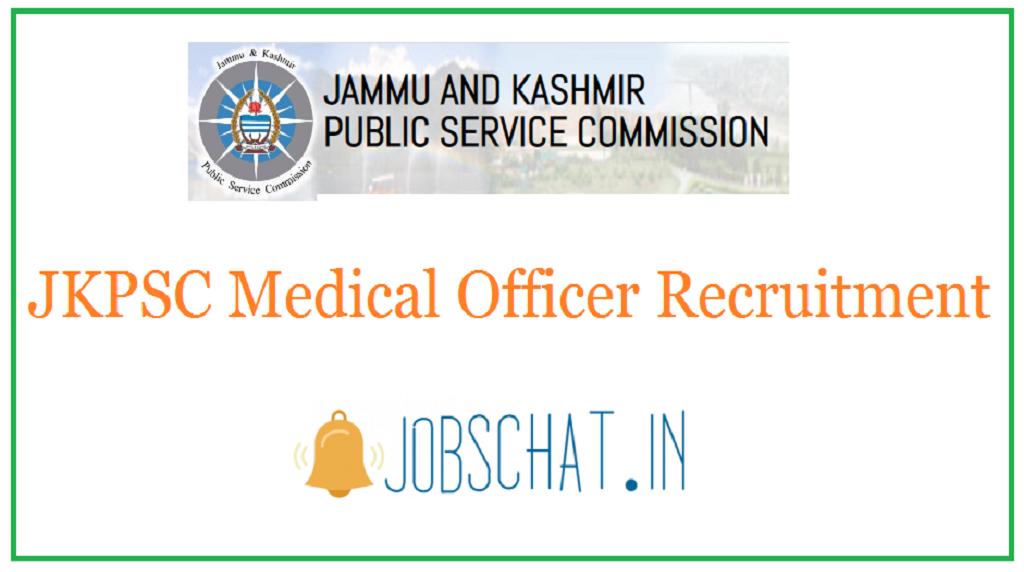 JKPSC Medical Officer Recruitment