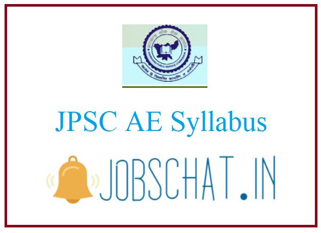 JPSC AE Syllabus