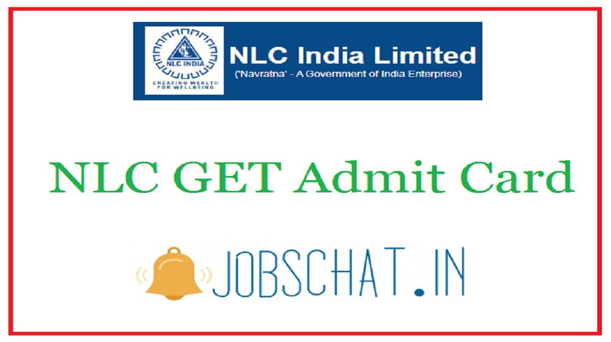 NLC GET Admit Card